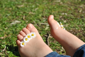 Get your feet fresh as a daisy!