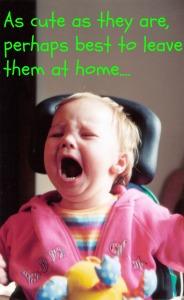 large toddler crying